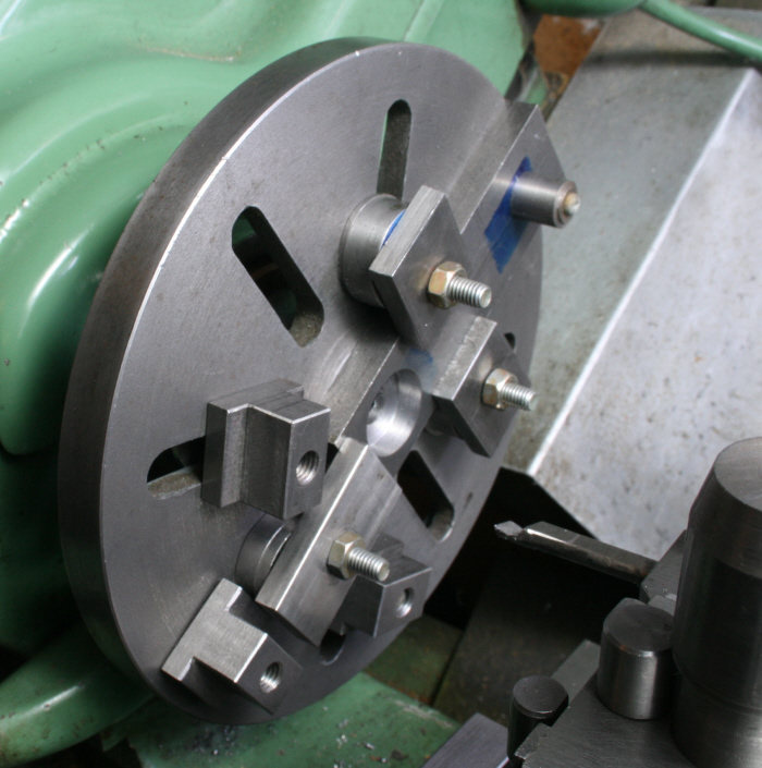 Using The Metalworking Lathe S Faceplate 03