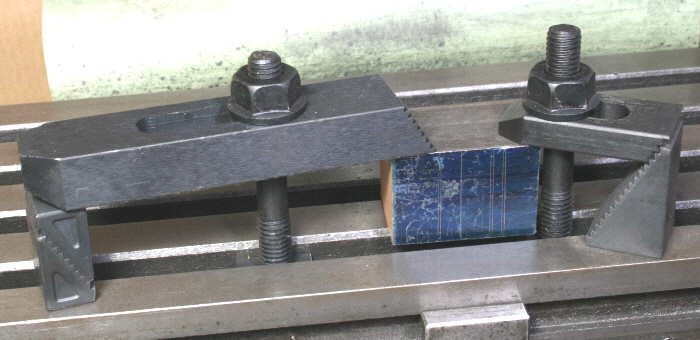 Workpiece Clamping On The Machint Table 2