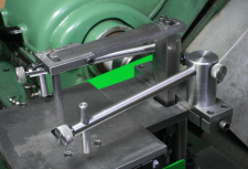 Filing Machine, with hold down facility.
