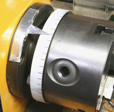 Dividing, on the lathe