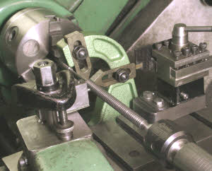 Machining a Square thread