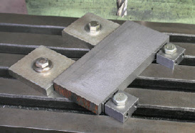 Low Profile Clamps, Edge Clamps, flat clamps