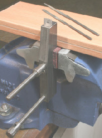 Toolmakers Clamp, Used as an Instrument makers vice