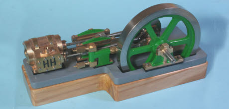 "Horizontal steam engine ""Tina"""