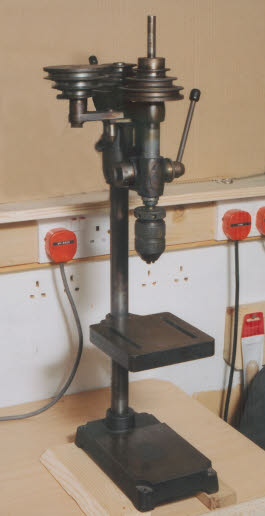 Cowell's of Watford drilling machine, Harold Hall