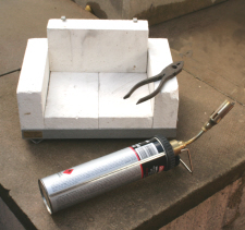 Brazing Hearth