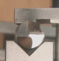 Drill Sharpening, four facet form.