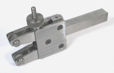 Two Wheel Knurling Tool, Side Supported.