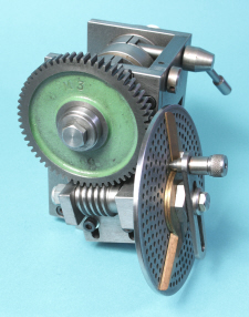 Dividing Head, Full Function using lathes Changewheels, Shop made,