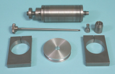 Lathe mounted milling head, Spindle and spindle mount parts
