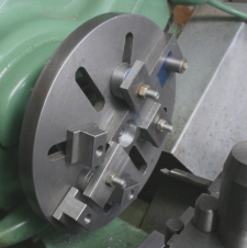 Faceplate and Angleplate workpiece clamps