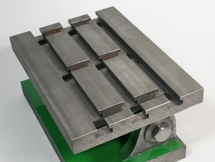 Adjustable Angle Plate : Tilting angle plate